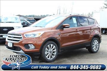 2017 Ford Escape for sale in Kirkland, WA