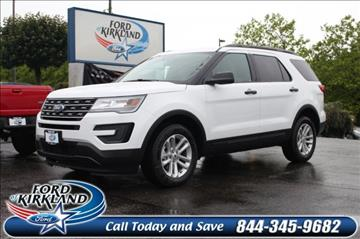 2017 Ford Explorer for sale in Kirkland, WA