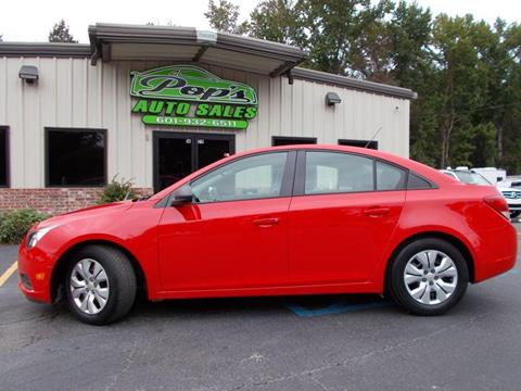 2014 Chevrolet Cruze for sale in Florence, MS