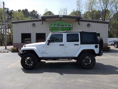 2014 Jeep Wrangler Unlimited for sale in Florence, MS