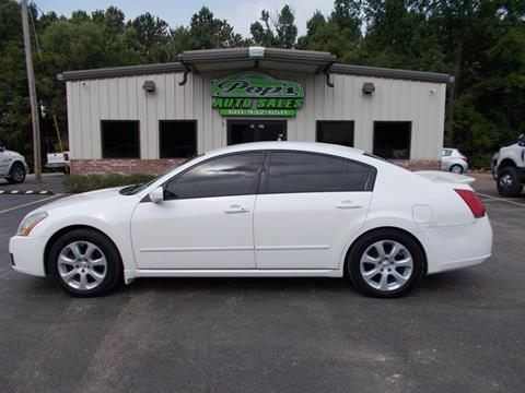 2007 Nissan Maxima for sale in Florence, MS