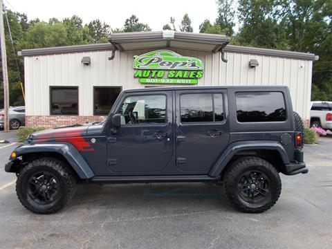 2017 Jeep Wrangler Unlimited for sale in Florence, MS