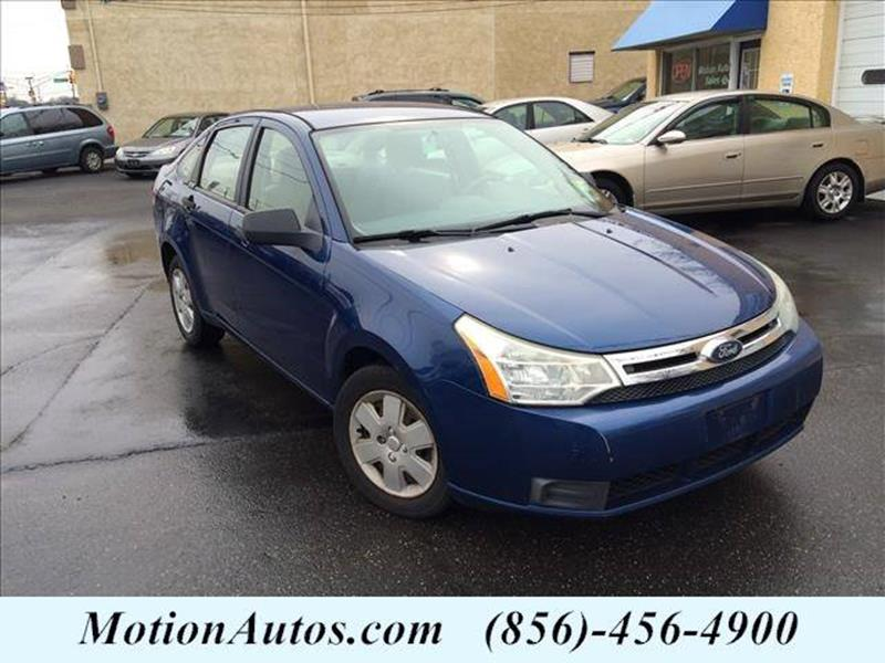 2008 Ford Focus for sale at Motion Auto Sales in Collingswood Heights NJ