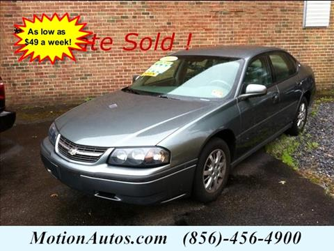 2005 Chevrolet Impala for sale in West Collingswood, NJ