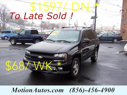 2004 Chevrolet TrailBlazer for sale in West Collingswood, NJ