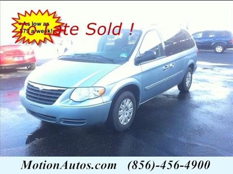2006 Chrysler Town and Country for sale in West Collingswood NJ