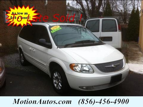 2001 Chrysler Town and Country for sale in West Collingswood NJ