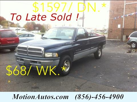 2001 Dodge Ram Pickup 1500 for sale in West Collingswood, NJ