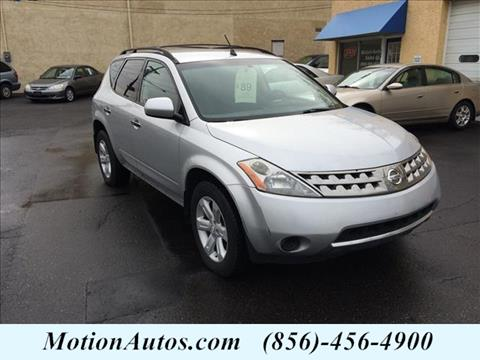 2006 Nissan Murano for sale in West Collingswood NJ