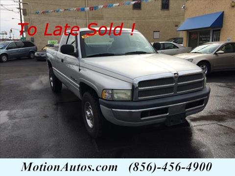 2001 Dodge Ram Pickup 2500 for sale in West Collingswood NJ