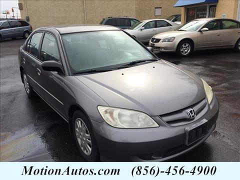 2004 Honda Civic for sale in West Collingswood, NJ
