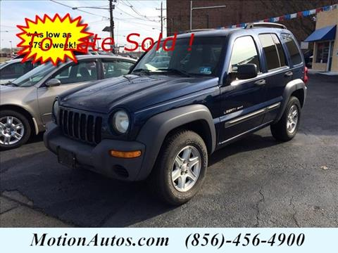2003 Jeep Liberty for sale in West Collingswood NJ