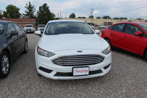 2017 Ford Fusion for sale in Van Wert, OH