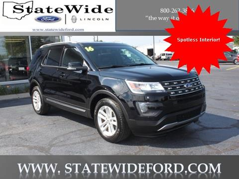 2016 Ford Explorer for sale in Van Wert, OH