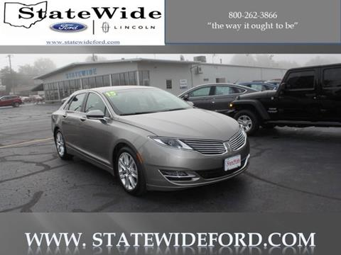 2015 Lincoln MKZ for sale in Van Wert, OH