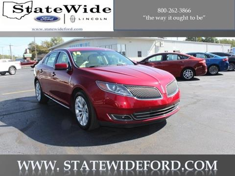 2014 Lincoln MKS for sale in Van Wert, OH