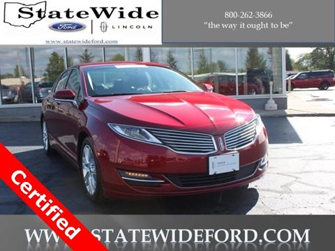 2016 Lincoln MKZ Hybrid for sale in Van Wert, OH