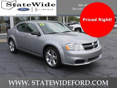 2013 Dodge Avenger for sale in Van Wert, OH