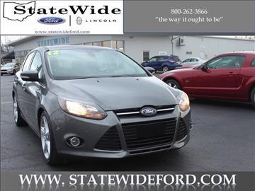 2012 Ford Focus for sale in Van Wert, OH