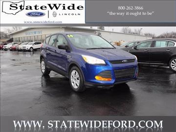 2014 Ford Escape for sale in Van Wert, OH