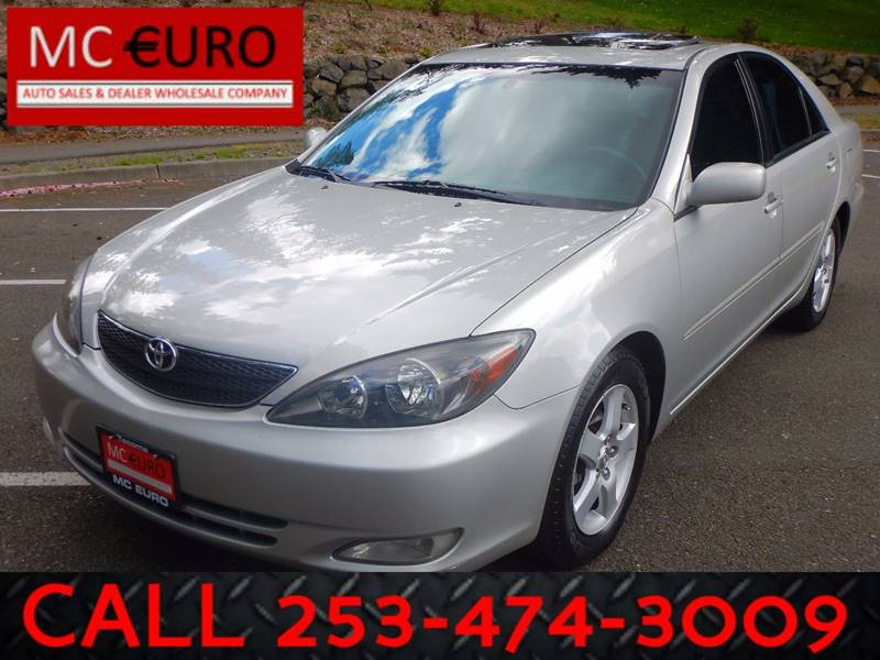 2003 Toyota Camry for sale at MC EURO in Tacoma WA