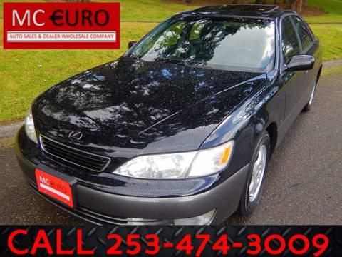 1999 Lexus ES 300 for sale at MC EURO in Tacoma WA