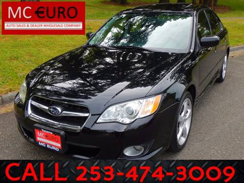 2009 Subaru Legacy for sale at MC EURO in Tacoma WA