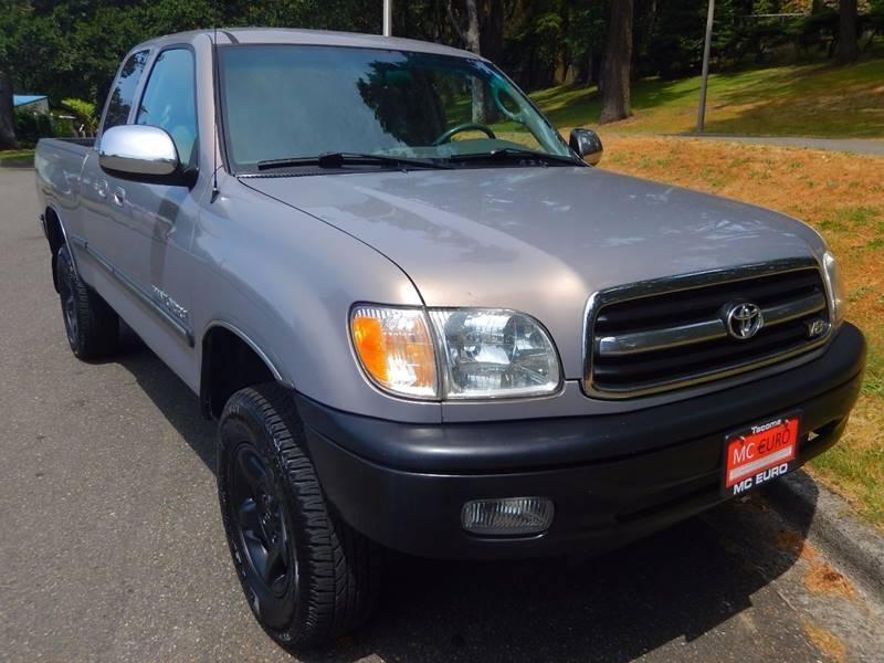2002 Toyota Tundra for sale at MC EURO in Tacoma WA