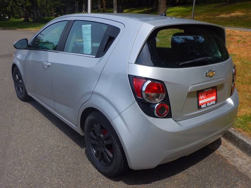 2012 Chevrolet Sonic for sale at MC EURO in Tacoma WA