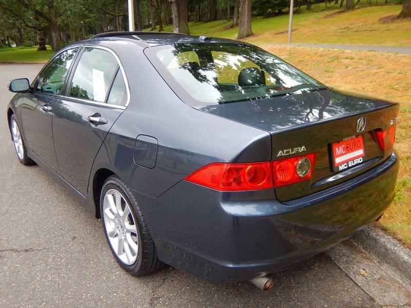 2007 Acura TSX for sale at MC EURO in Tacoma WA