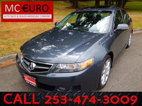 2007 Acura TSX for sale at MC EURO in Tacoma WA
