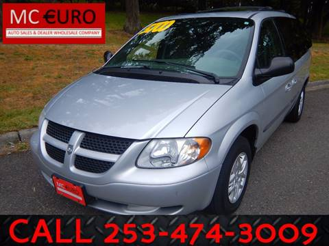 2003 Dodge Grand Caravan for sale at MC EURO in Tacoma WA