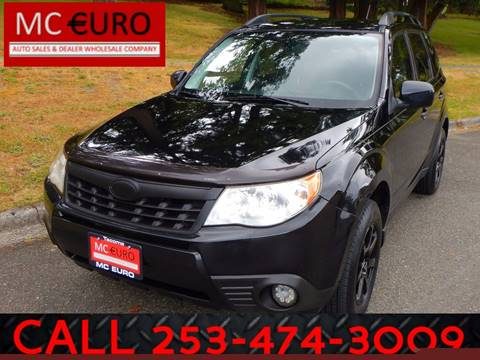 2011 Subaru Forester for sale at MC EURO in Tacoma WA