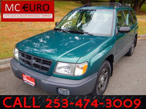 1998 Subaru Forester for sale at MC EURO in Tacoma WA