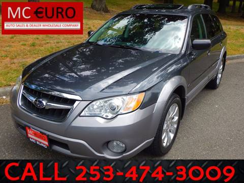 2009 Subaru Outback for sale at MC EURO in Tacoma WA