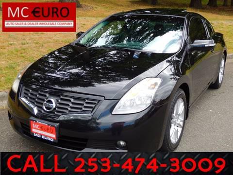 2008 Nissan Altima for sale at MC EURO in Tacoma WA