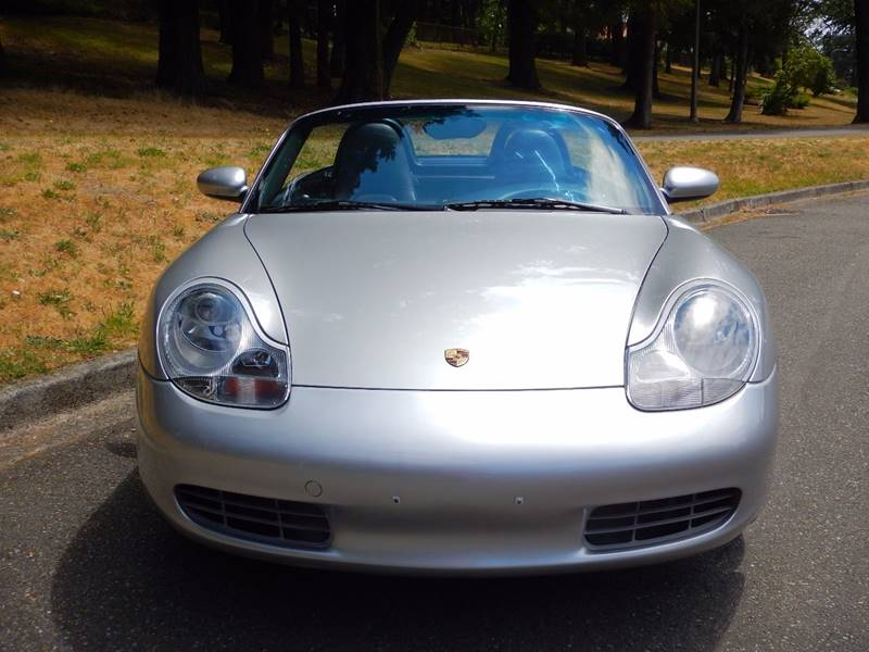 2002 Porsche Boxster for sale at MC EURO in Tacoma WA