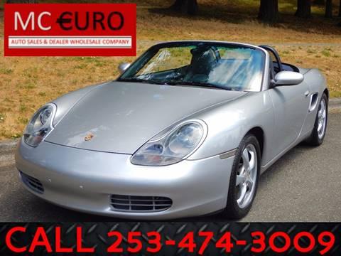 2002 Porsche Boxster for sale in Tacoma, WA