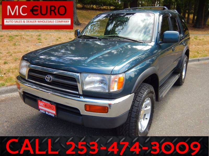 1998 Toyota 4Runner for sale at MC EURO in Tacoma WA