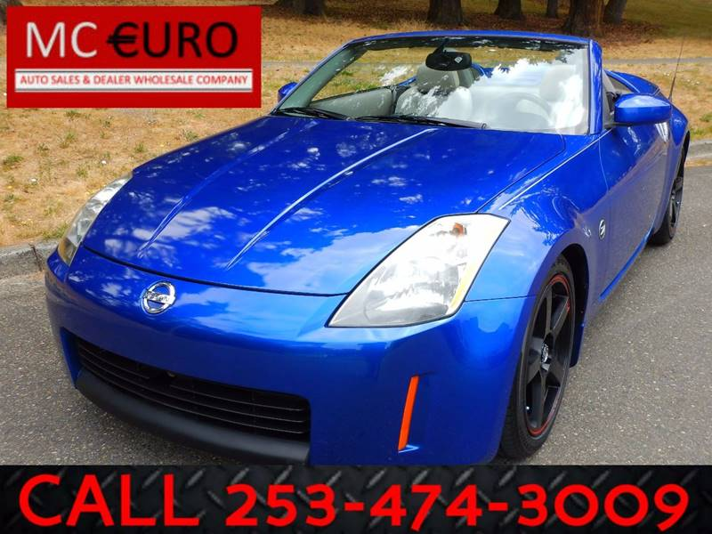 2005 Nissan 350Z for sale at MC EURO in Tacoma WA