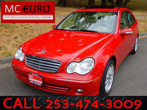 2006 Mercedes-Benz C-Class for sale at MC EURO in Tacoma WA