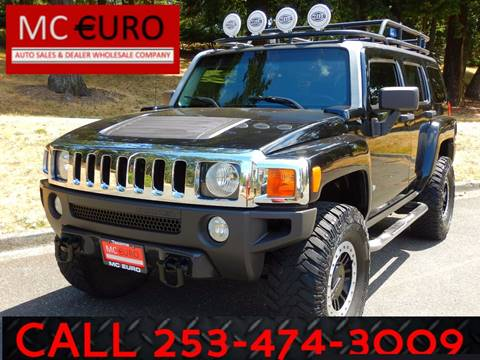 2006 HUMMER H3 for sale at MC EURO in Tacoma WA