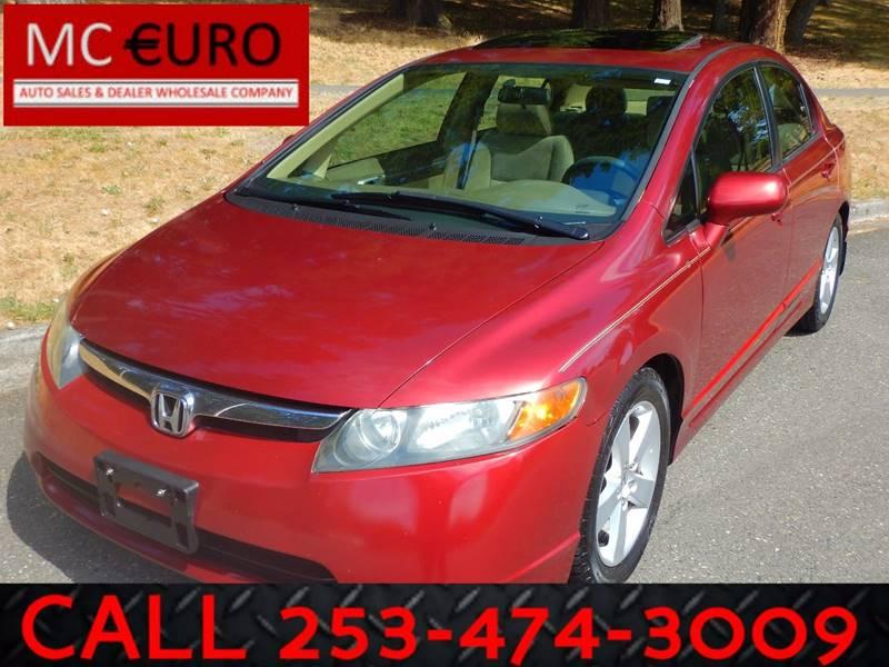 2006 Honda Civic for sale at MC EURO in Tacoma WA