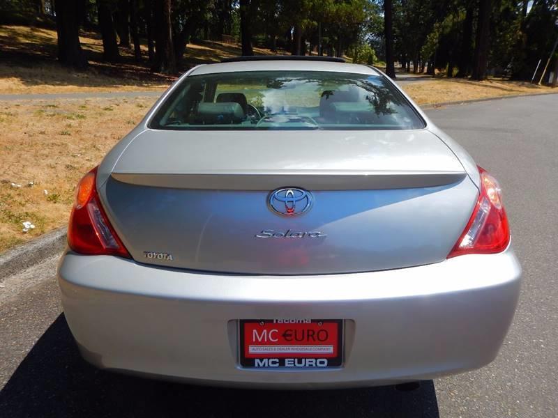 2005 Toyota Camry Solara for sale at MC EURO in Tacoma WA