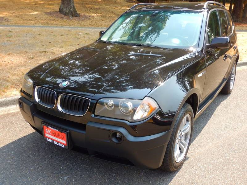 2005 BMW X3 for sale at MC EURO in Tacoma WA