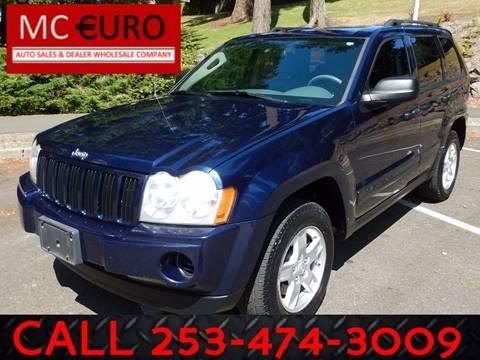 2006 Jeep Grand Cherokee for sale in Tacoma, WA