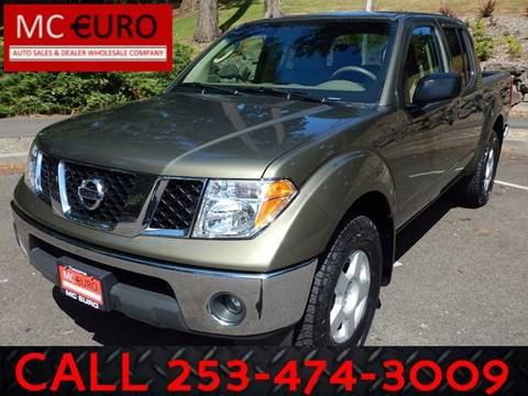 2005 Nissan Frontier for sale at MC EURO in Tacoma WA