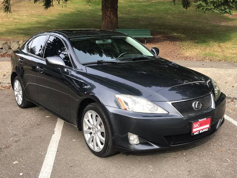 2008 Lexus IS 250 for sale at MC EURO in Tacoma WA