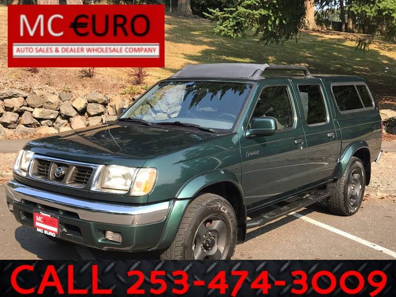 2000 Nissan Frontier for sale at MC EURO in Tacoma WA