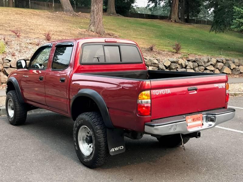 2001 Toyota Tacoma for sale at MC EURO in Tacoma WA